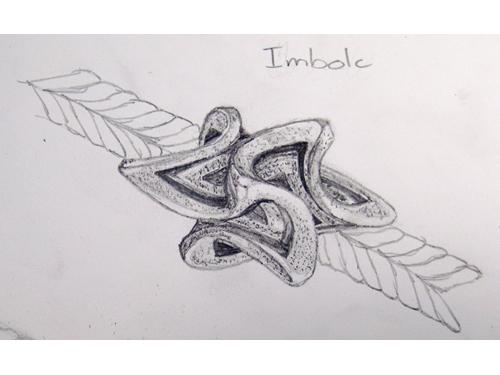 My first attempt for Imbolc 36363e11