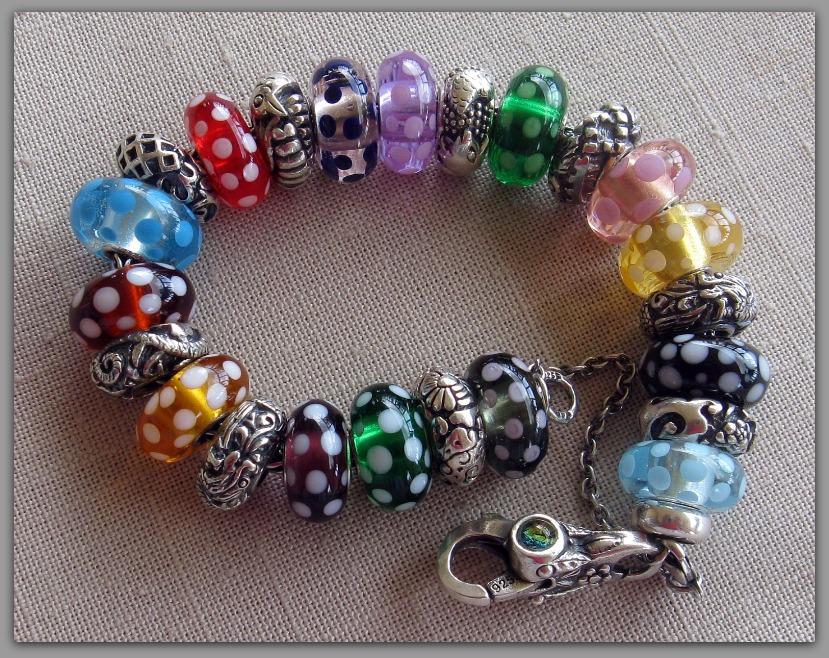 This Bracelet makes me Happy!!!! Dottie10