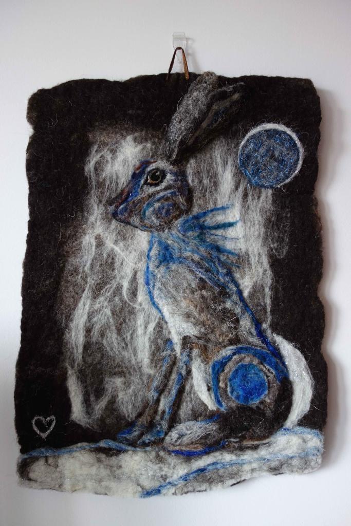 Moon Hare Magic Feltmo10