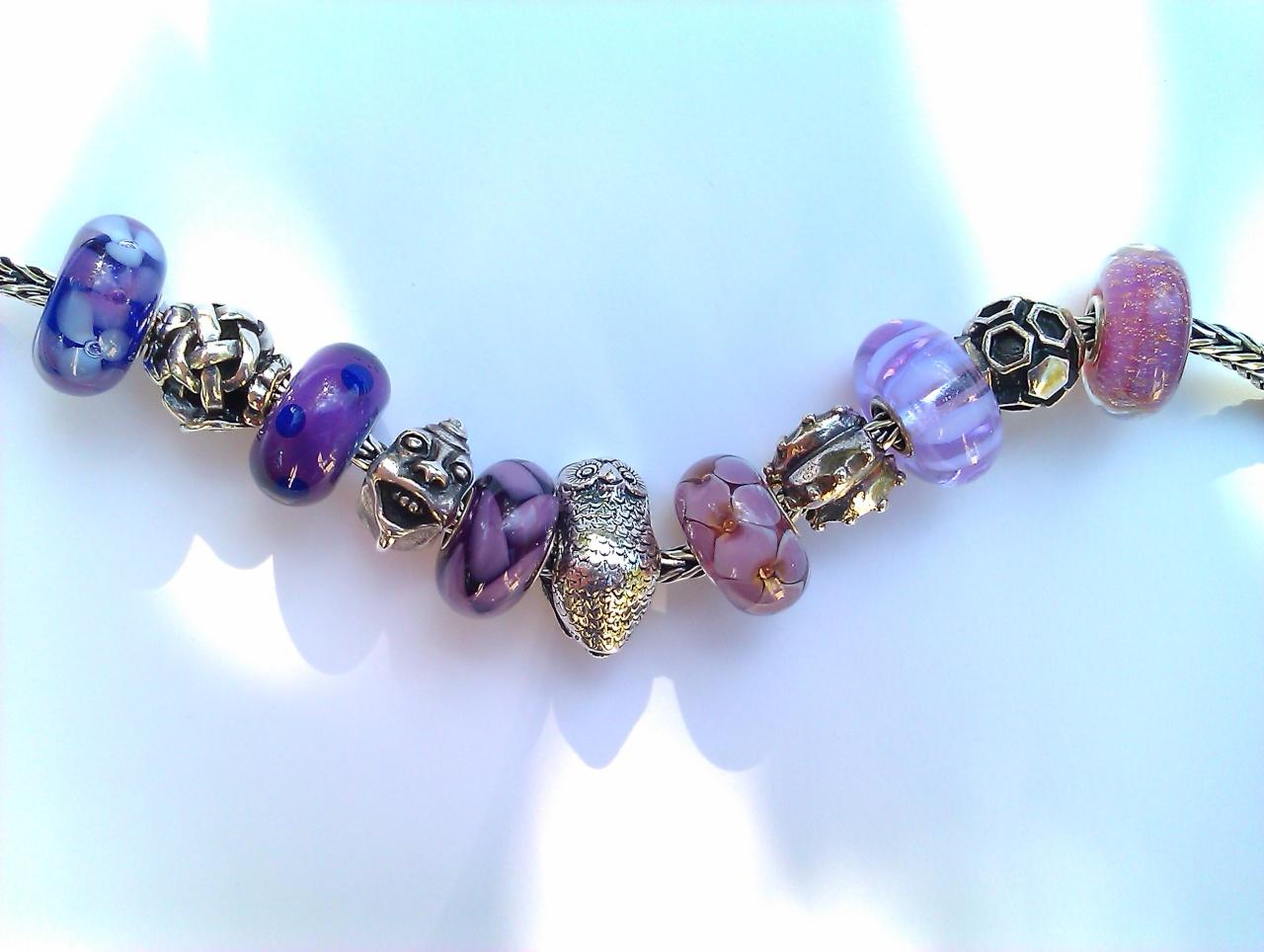 Purple 'Graduation' Necklace Imag0210