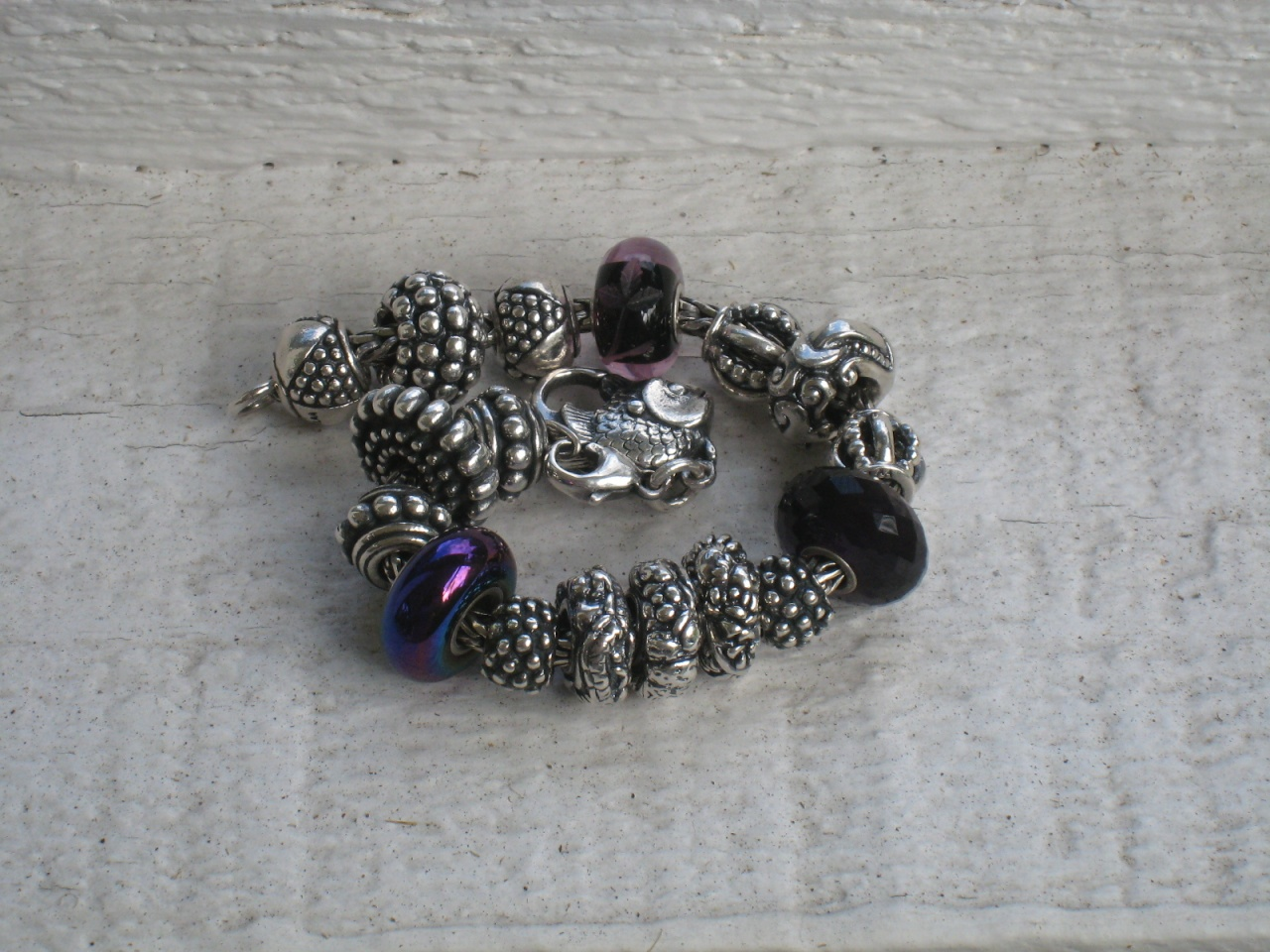 14 Silver Beads Img_0915