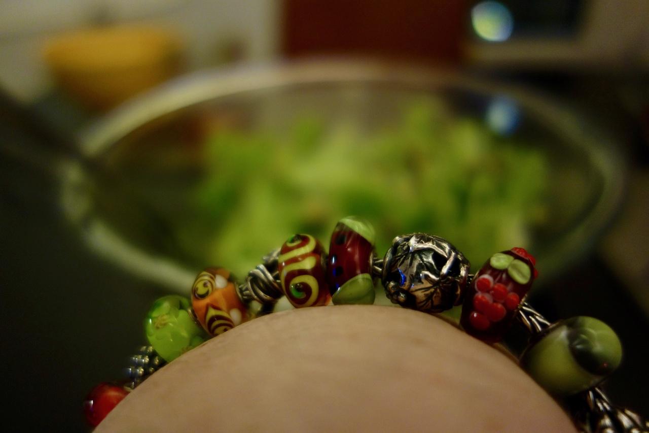 Pizza and Salad Salat10